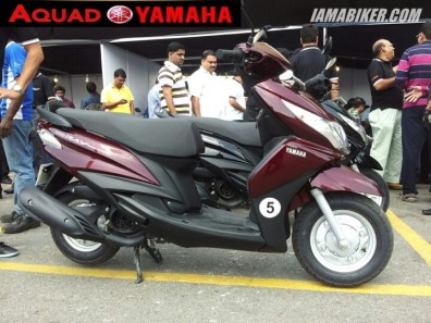 yamaha scooter cost