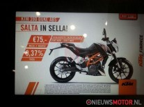 KTM Duke 390 first pictures and specifications