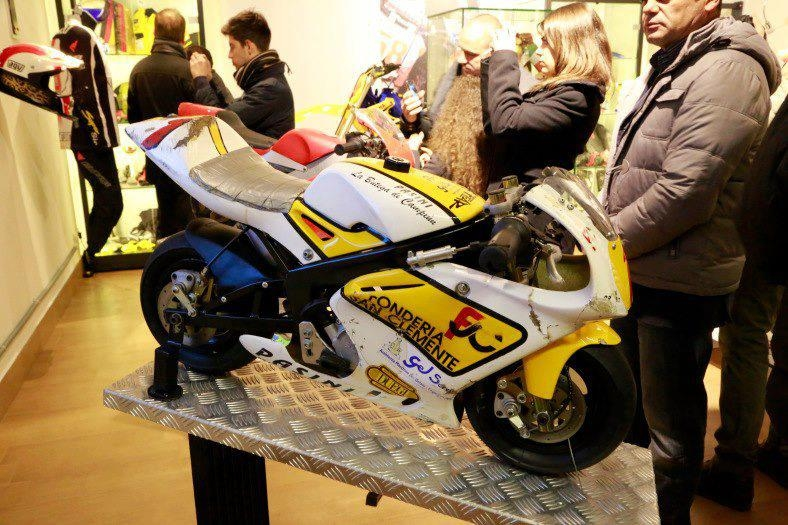 Marco Simoncelli memorial and exhibition - 08