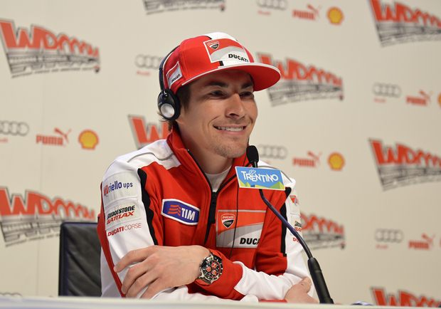 Nicky Hayden at Wroom 2013