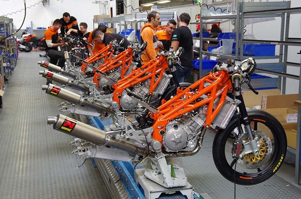 KTM RC250R Production Racer in detail