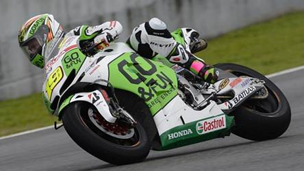 Honda Gresini Jerez testing day 1 report