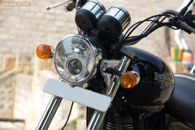 Royal Enfield Thunderbird 500 headlight projectors