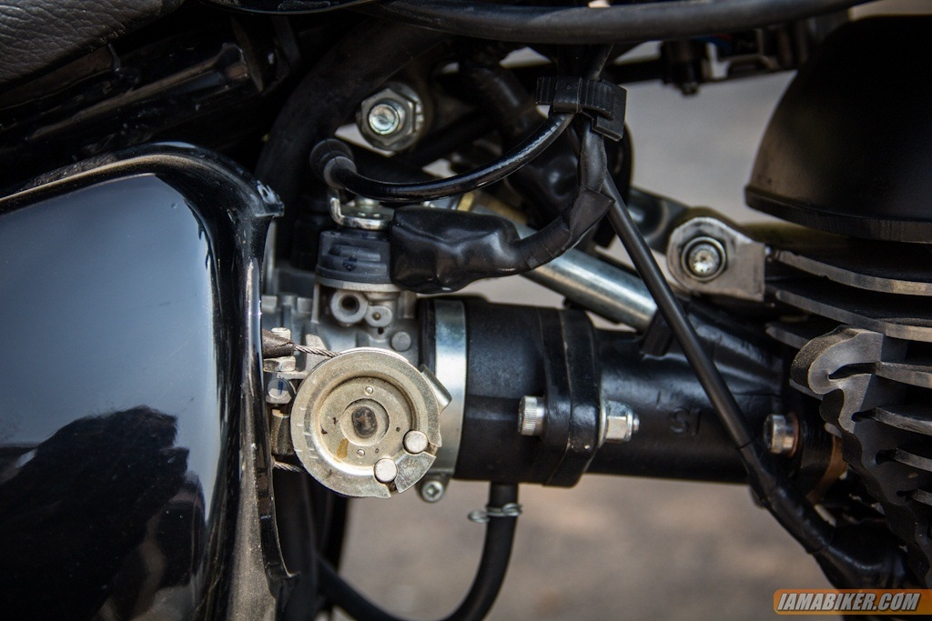 Royal Enfield Thunderbird 500 fuel injection
