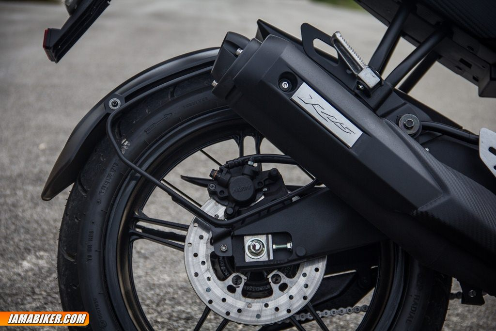 yamaha r15 back disc and silencer