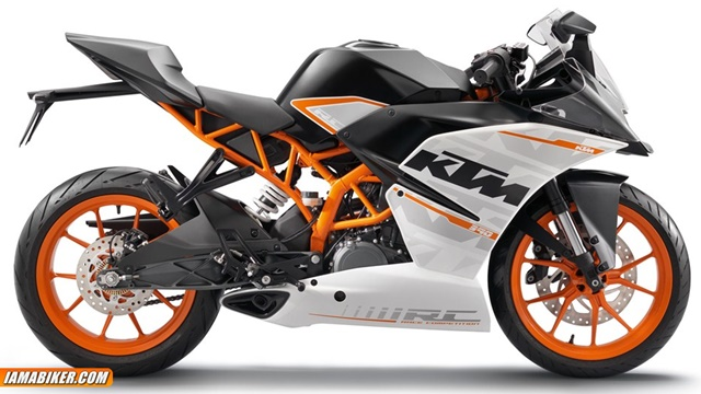 ktm rc390 photographs
