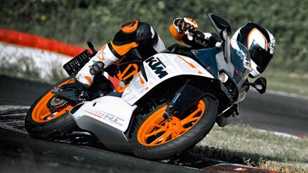 2014 KTM RC390 India launch