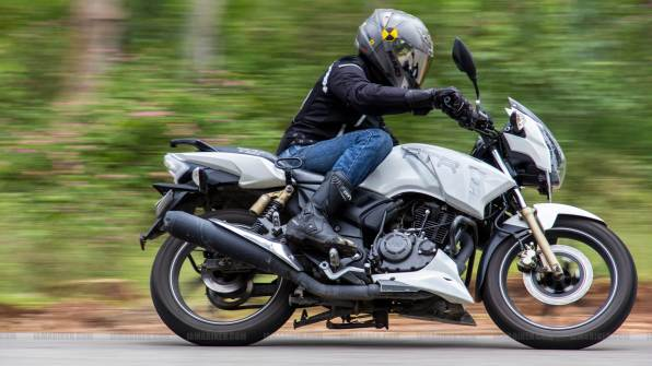 TVS Apache RTR 180 review - 30