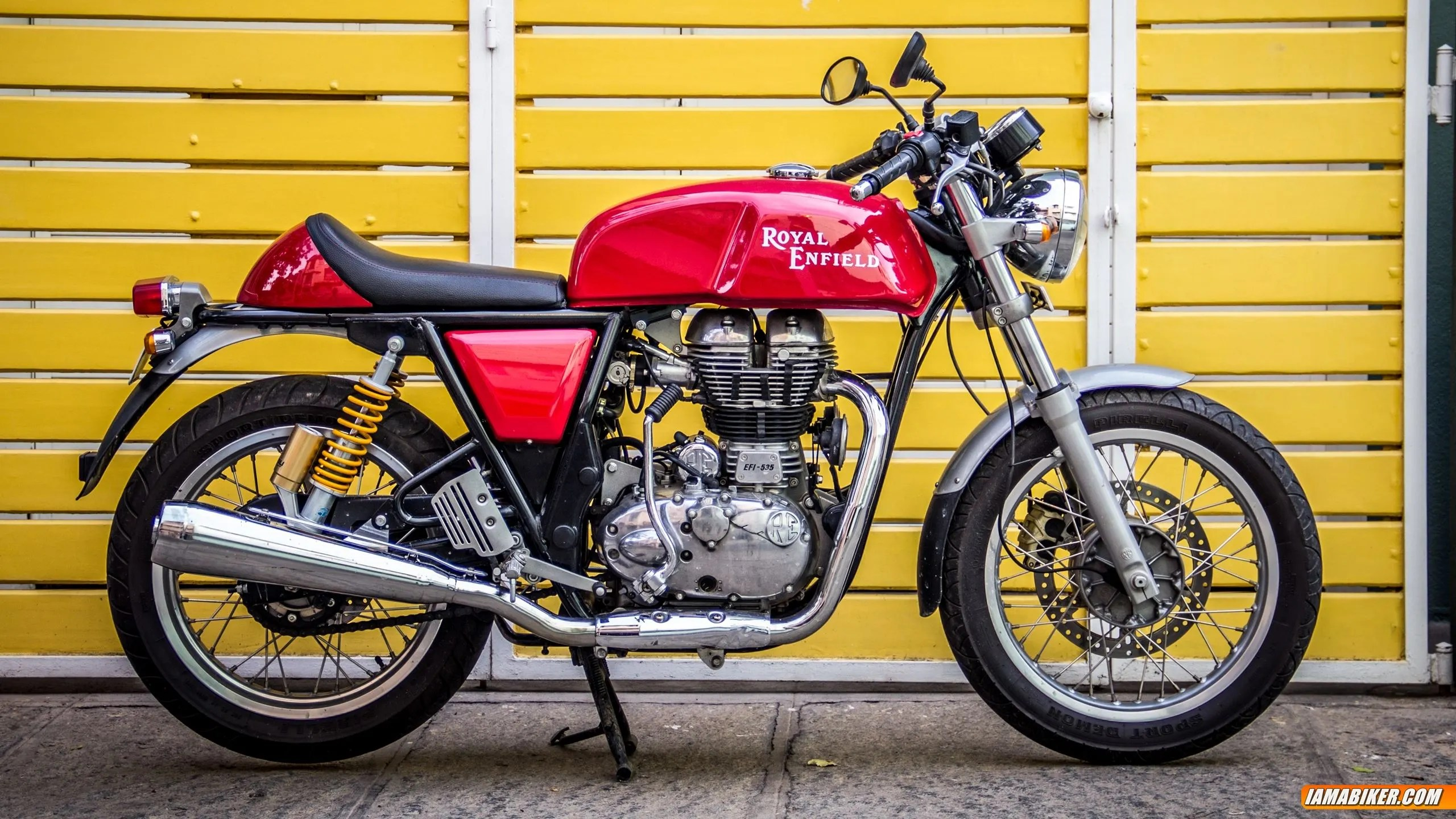 royal enfield continental gt review build quality looks and feel