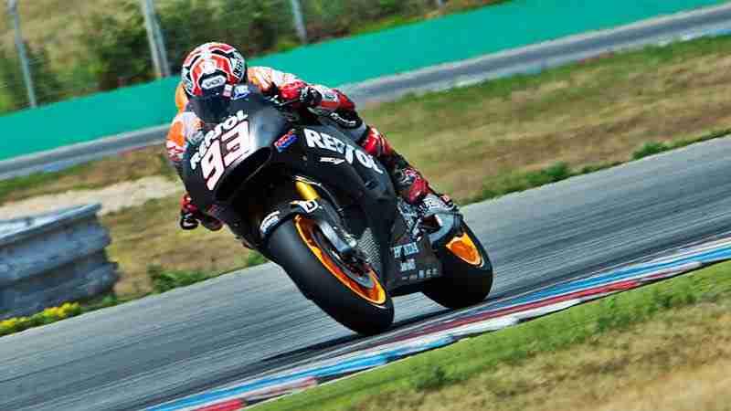 Marc Marquez MotoGP Brno testing