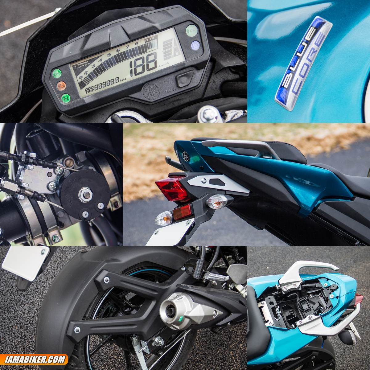 yamaha fz-s v2 review - accessories