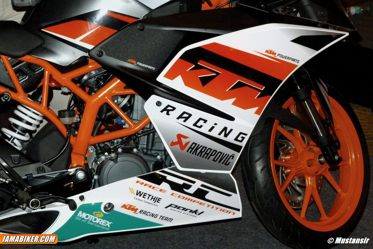 KTM RC 390 RC launch India - 11