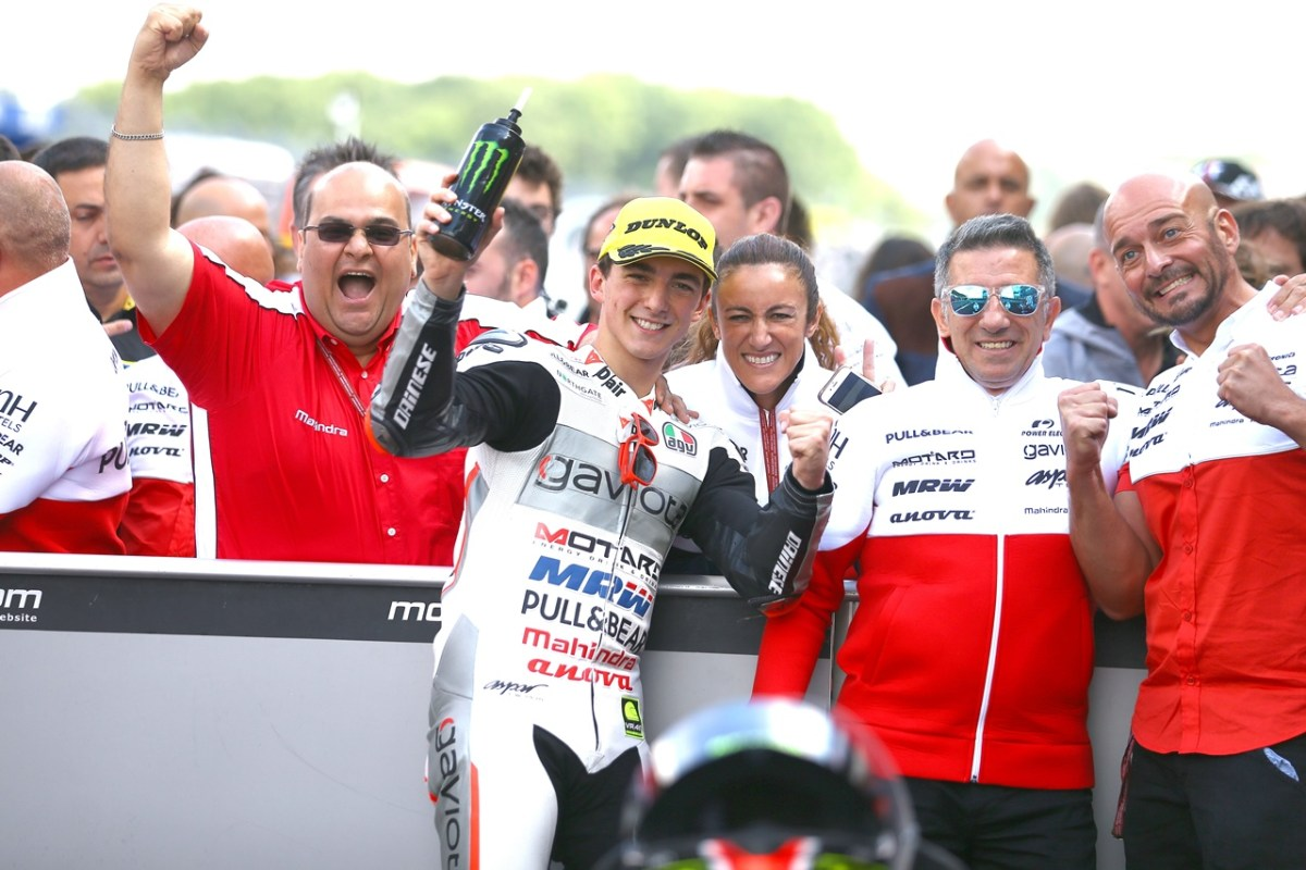 Mahindra Racing secures first Moto3 victory