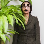 business-woman-hiding