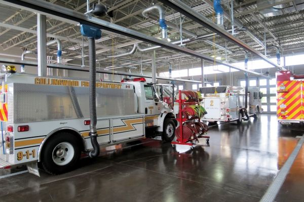 Collingwood's New Firehall