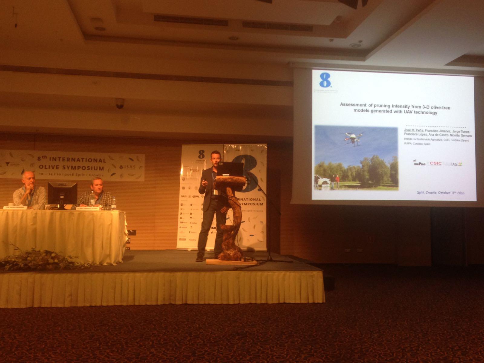 Grupo imaPing (IAS-CSIC) en el VIII International Olive Symposium