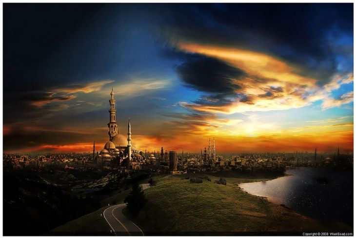 the_city_of_a_thousand_minaret_by_dpainter