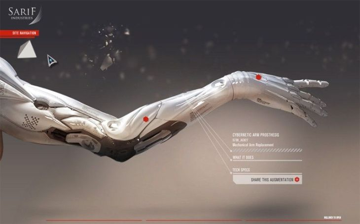 augmented-arm