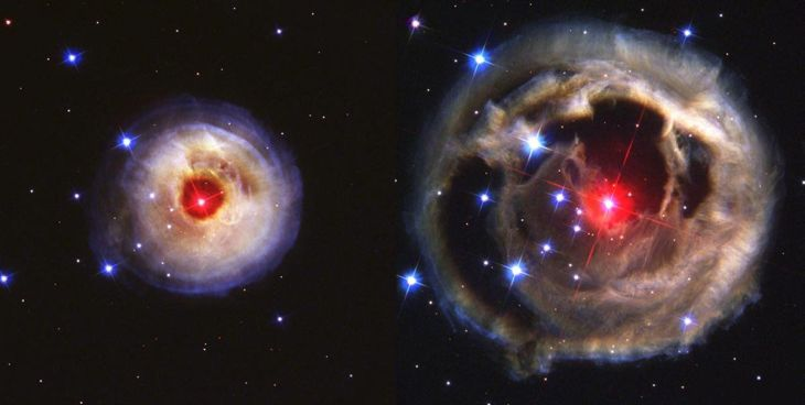 these-are-two-hubble-images-of-the-same-object-the-left-image-was-taken-on-may-20-2002-while-the-right-image-was-taken-over-6-months-later-on-december-17-in-january-2002-astronomers-observed-a-bright-light-pulse--600000-t