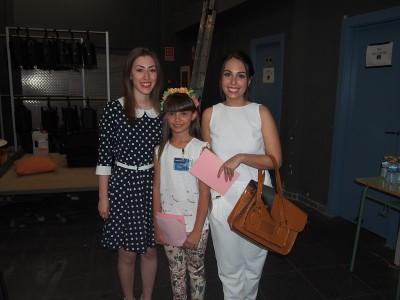 Presentadoras Irene, Marina y María