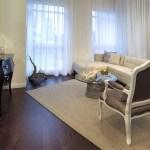 Rain Condos - model suite living area 2