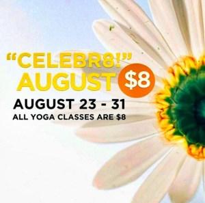 kula yoga oakville - $8 yoga classes sale summer 2015
