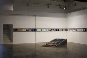 Joana Hadjithomas and Khalil Joreige, Lebanese Rocket Society, 2012, installation detail, The Third Line, Dubai, 2012. Courtesy of the artists and The Third Line, Dubai.