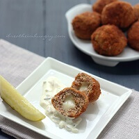 Chicken Cordon Bleu Meatballs - Low Carb and Gluten Free Recipe