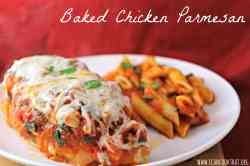 Small Of Grilled Chicken Parmesan