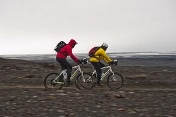 On the way to Kverkfjöll at Europe's largest ice cap – the Vatnajökull glacier
