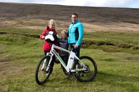 Preparing for a cycle ride on a regular bike – or maybe on eflow? (SB)