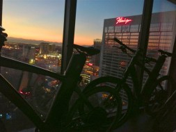 Nice view from the 21st floor (SB)
