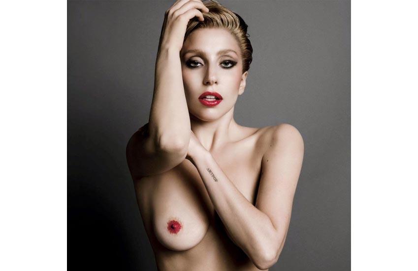 Lady Gaga Desnuda xxx Fotos Prohibidas de esta Famosa