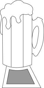 beer mug Template