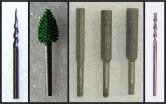 Bits with 1/8″ Shanks