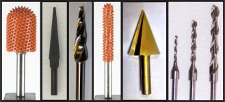 Bits with 1/4″ Shanks