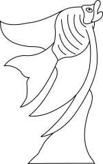 Angel Fish Template