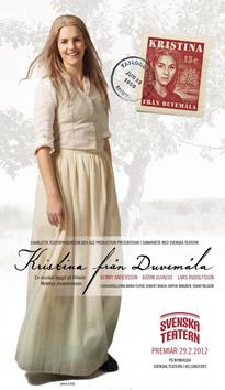 Main poster design for 'Kristina' Helsinki