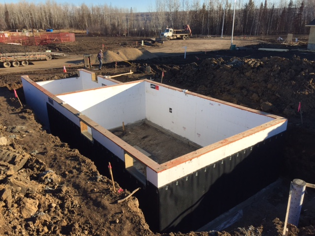 2 icf foundations in fort mcmurray rebuilt ic forming after getting delayed with excavation in our second job having reduced power issues with two trucks and a midnight run for extra blocks we did manage to solutioingenieria Gallery