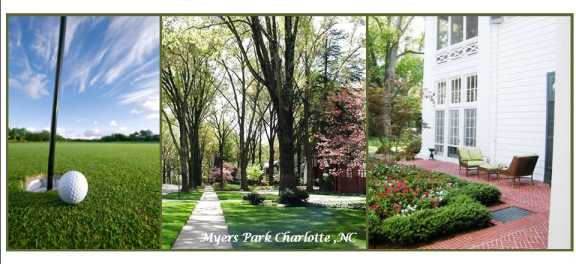 Myers Park Neighborhood Charlotte NC