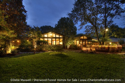Search Charlotte homes for sale in close-in neighborhoods | Sherwood Forest