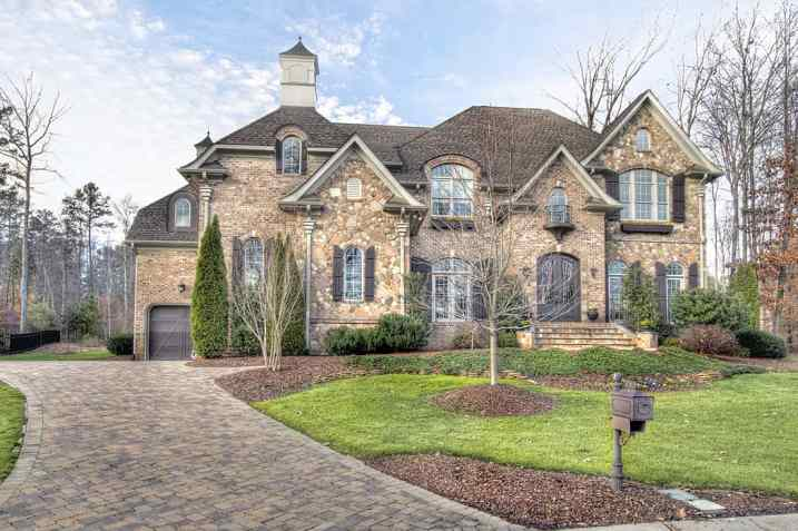 Stunning South Charlotte Luxury home for sale in gated Skyecroft