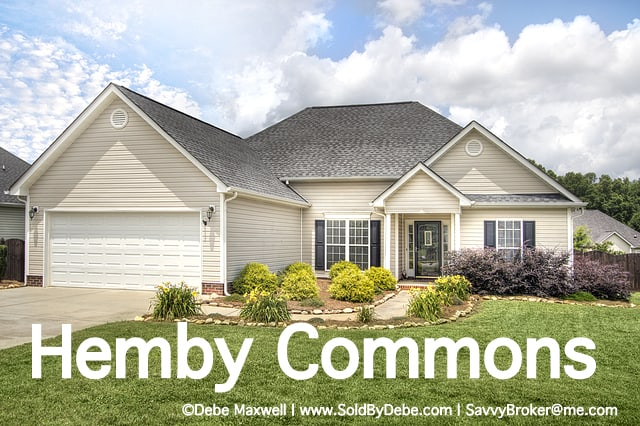 Coming Soon in Hemby Commons RANCH home for Sale