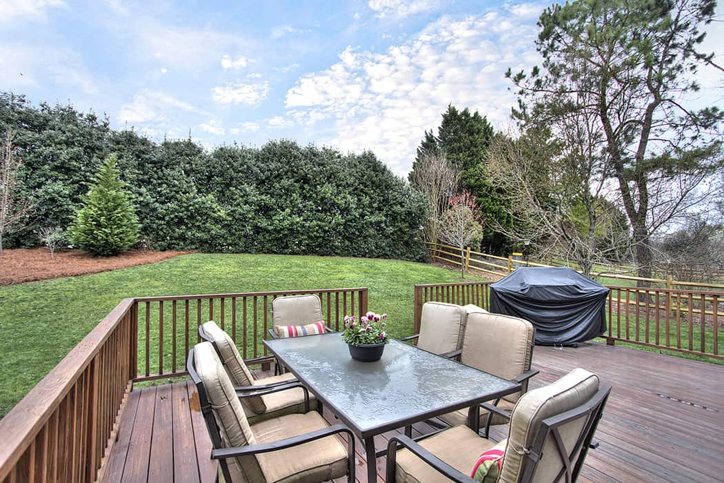 GREAT backyard in popular Charlotte neighborhood home for sale