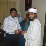 Appreciation for the chief guest at Ramadhan celebrations 2015