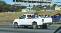 Bakkie transport services - this time 11 souls in a nutshell.
