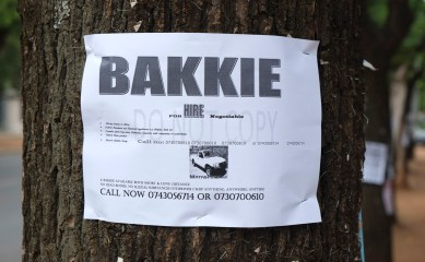 Bakkie services - but wait! No dead bodies and no illegeal thing