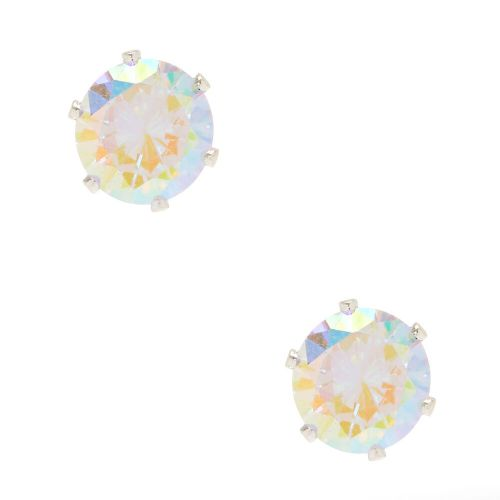 Contemporary Iridescent Cubic Zirconia Stud Earrings Iridescent Cubic Zirconia Stud Earrings Icing Us Cubic Zirconia Earrings Allergy Cubic Zirconia Earrings G