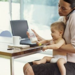 Mães trabalhadoras, mães a tempo inteiro