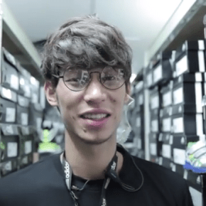 Jeremy Lin pranks customers in Taipei as Adidas store sales employee